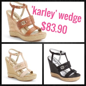 Sam Edelman Karley wedge on sale at Nordstrom - asksuzannebell.com