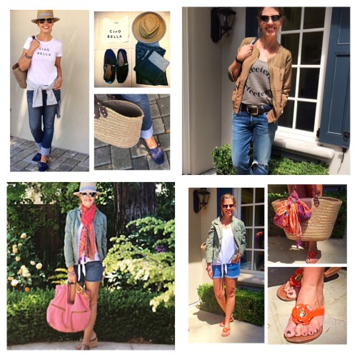 daytime casual looks - askSuzanneBell May Instagram favorites