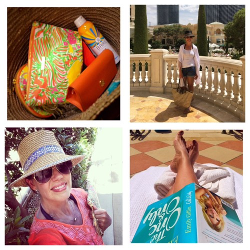 AskSuzanneBell + What to wear poolside + outfit inspiration