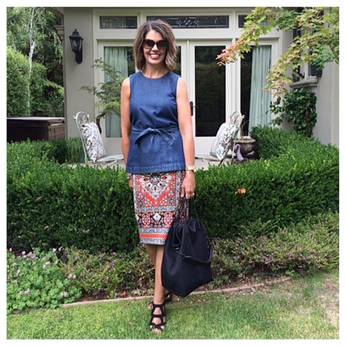What I Wore May   Skirt outfit ideas