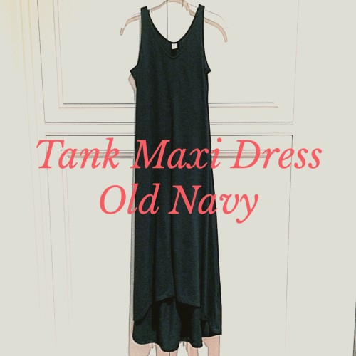 Old Navy Maxi Dress- 4 ways