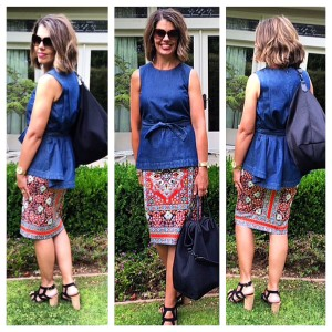 Pattern Play | How to wear and style pattern skirts
