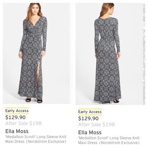 Ella Moss Medallion Scroll maxi dress + Nordstrom Anniversary Sale Picks 2015 - Asksuzannebell.com