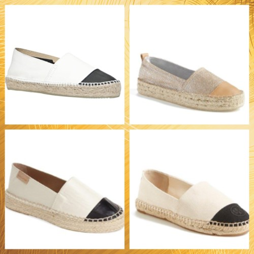LOOK FOR LESS | Chanel Espadrilles on AskSuzanneBell.com