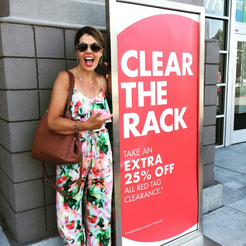 Nordstrom Clear the Rack Event on now | more on www.asksuzannebell.com