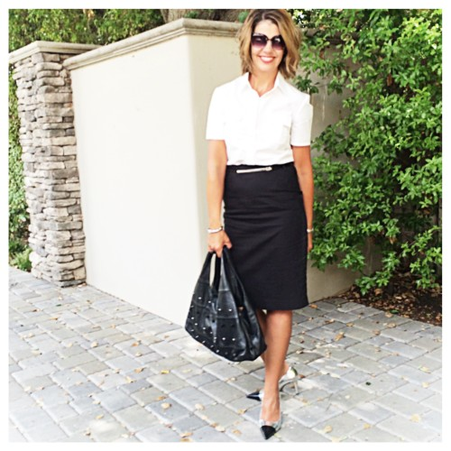 wardrobe must-have: the black pencil skirt | www.asksuzannebell.com
