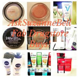 drugstore beauty buys on AskSuzanneBell
