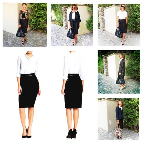 Work Wardrobe Must Have: The Black Pencil Skirt + Weekend Link-Ups and Sales