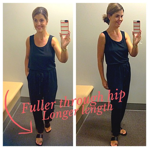 jumpsuit dressing room reviews on AskSuzanneBell.com | outfit post