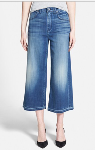 7 for all Mankind | Nordstrom | Denim Culottes \fall denim on ASkSuzanneBell.com