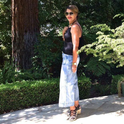 Tracy Reese Culotte | styled up 4 ways on www.AskSuzanneBell.com