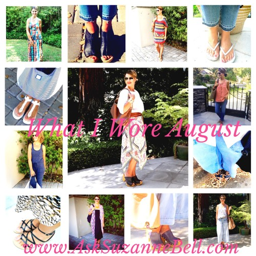 what I wore August | outfit post on www.asksuzannebell.com