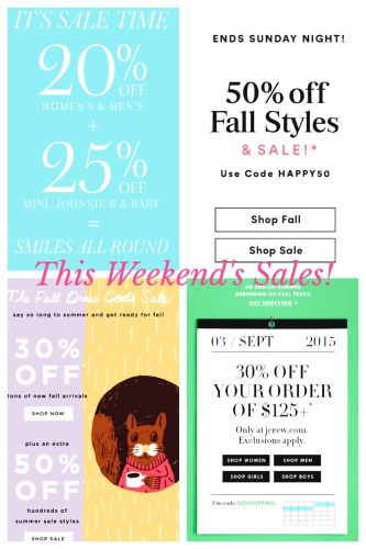 Best Labor Day weekend sales on www.asksuzannebell.com