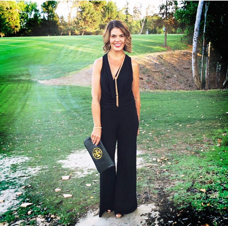 What I Wore: Young Fabulous and Broke Jumpsuit on www.AskSuzanneBell.com