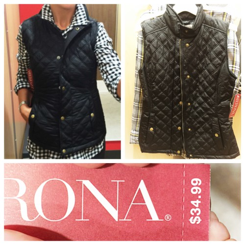 Quilted Vest via Target on www.AskSuzanneBell