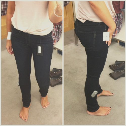 denim reviews | Paige skyline skinny jean on www.AskSuzanneBell.com