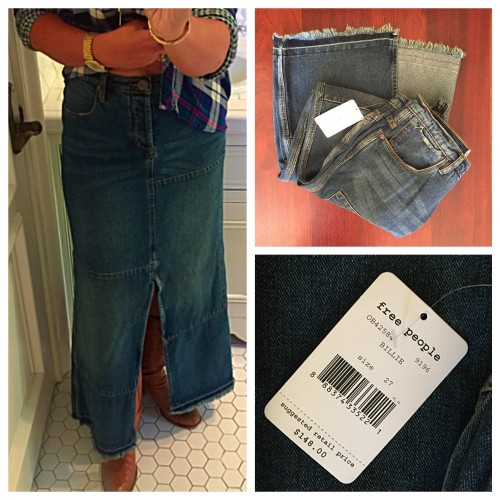 free people long skirt | 4 must0have bottoms | www.asksuzannebell.com
