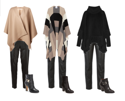 polyvore set |leather pant outfits | www.asksuzannebell.com