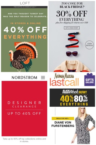 AskSuzanneBell Sale Alerts : Black Friday 2015