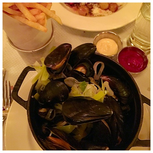 Balthazar | Mussels and Frittes