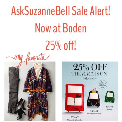 Boden Sale on now!