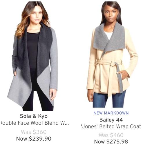 wrap coats at nordstrom