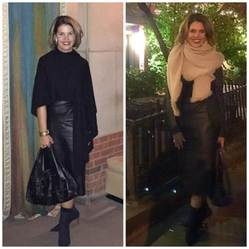 Street Style | Cashmere Wraps on AskSuzanneBell.com