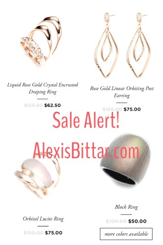 ALexis Bittar on sale at Last Call | rings