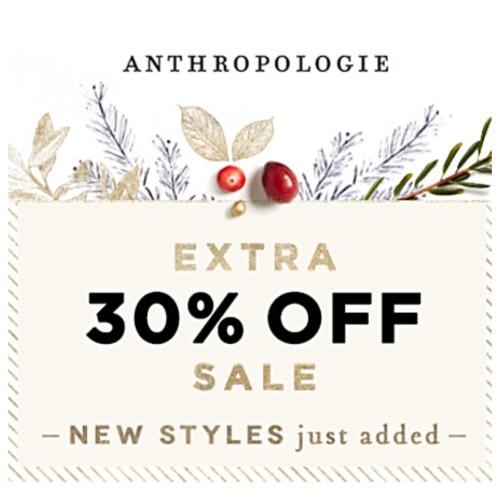 Anthropologie Sale on Sale this weekend.