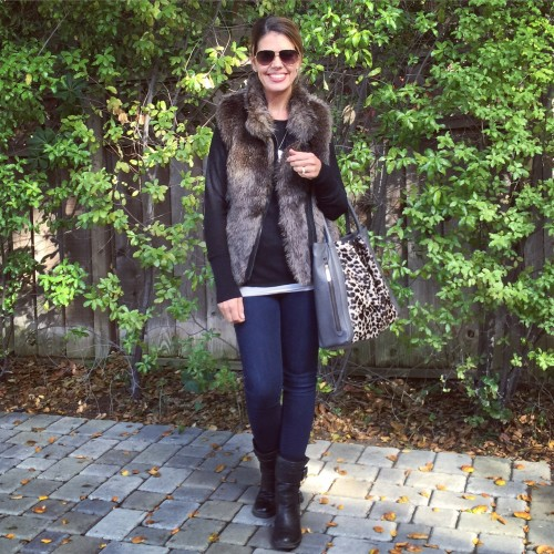 Festive Faux Fur on www.AskSuzanneBell.com