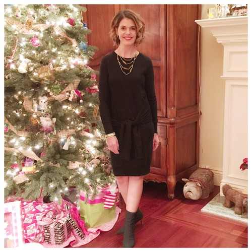 Holiday sweater dressing on AskSuzanneBell.com