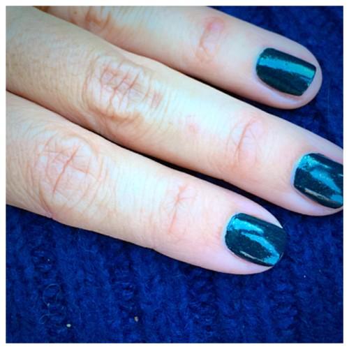 OPI Green Nails | Here Today Aragon Tomorrow