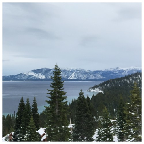 Lake Tahoe, a view from Rubicon Bay | on AskSuzanneBell.com