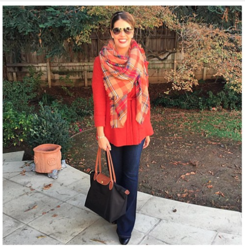 How I Wear My Blanket Scarves on AskSuzanneBell.com