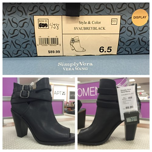 Vera Wang Shootie   Look for Less on AskSUzanneBell.com