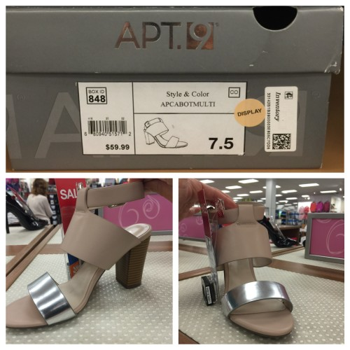 apt 9 | look for less at Kohls | AskSuzanneBell.com