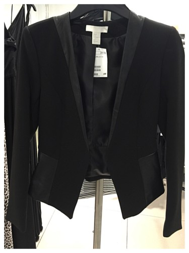 H and M blazer |Look for Less!