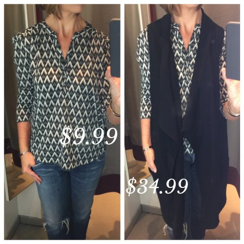 H and M Jersey Top on ASkSUzanneBell.com | Dressing Room Reviews