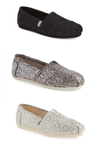 TOMS classic glitter at Nordstrom Winter Clearance Sale | picks on AskSuzanneBell.com