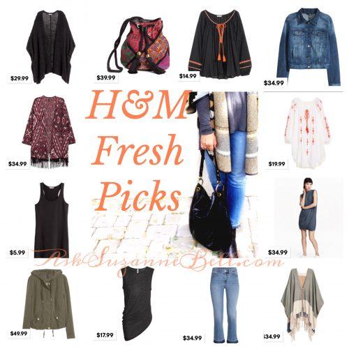 H&M Picks on AskSuzanneBell.com