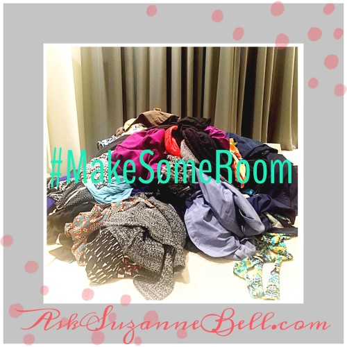 Closet Cleanout Series on AskSuzanneBell.com