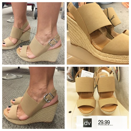 DV Wedge at Target | SS16 sandals on AskSuzanneBell.com