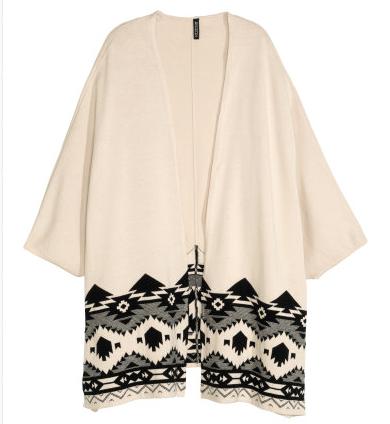 H&M Jaquard knit Cardigan