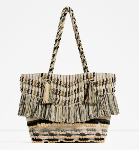 Zara Fringe Bag | Styled up on AskSuzanneBell.com