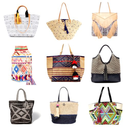 Tassel Bags - blogger picks on AskSuzanneBell
