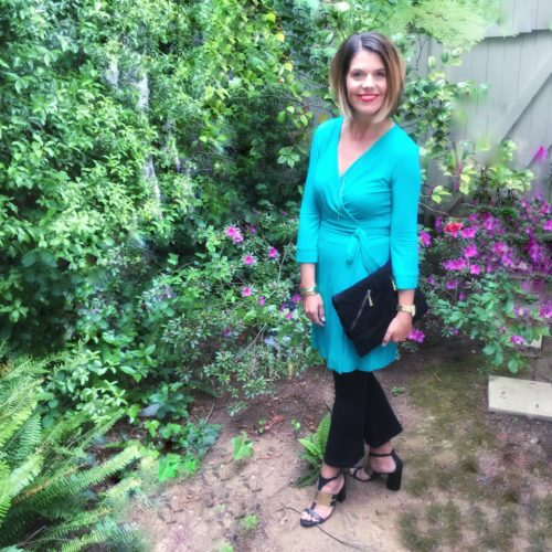 How I Style my DVF Wrap Dress
