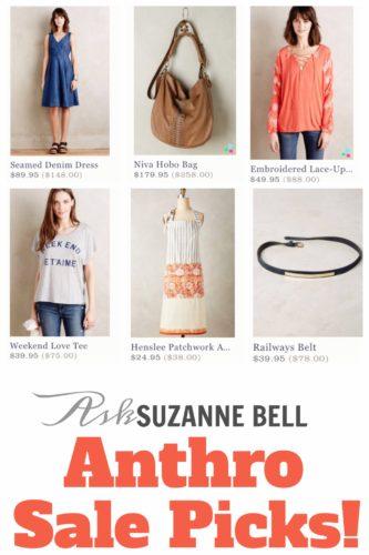 Anthropologie blogger sale picks