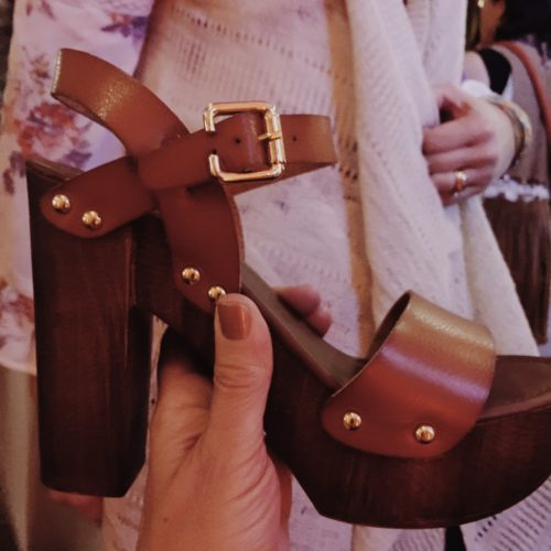 Massimo wood heel platform | Target