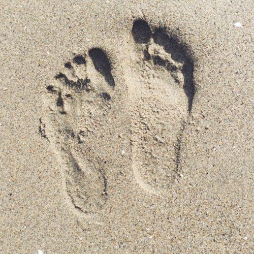 Feet in Sand | Aptos, CA