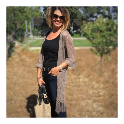 Fringe Duster Sweater Cardigan   Coldwater Creek